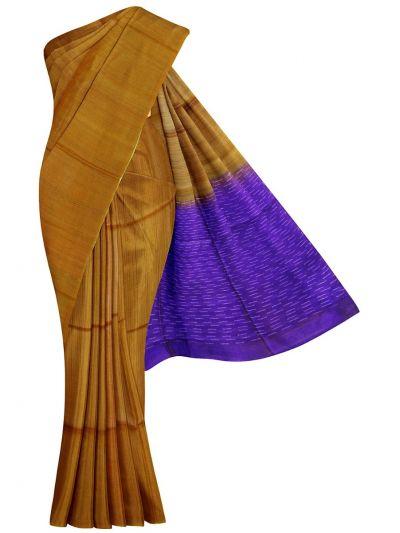 EKM-NGD1812317 - Sahithyam Dupion Tussar Silk Saree