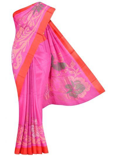 Kanmanie 3 Inch Border Soft Silk Saree