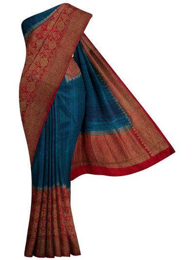 Antique Banarasi Silk Saree - NHB4593063
