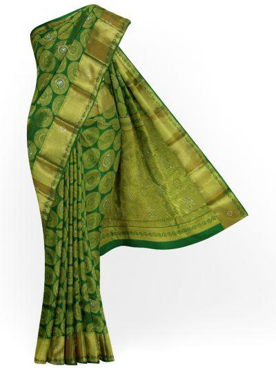 Traditional Silk Stone Work Saree - EKM -NHB4734152