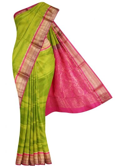 NHC4891755 - Handloom Pure Silk Nine Yards Saree