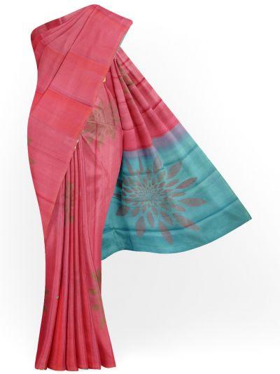 Soft Silk Saree - NHD5030775-EKM