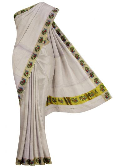 Women's Kerala Saree - NIA5815650-EKM