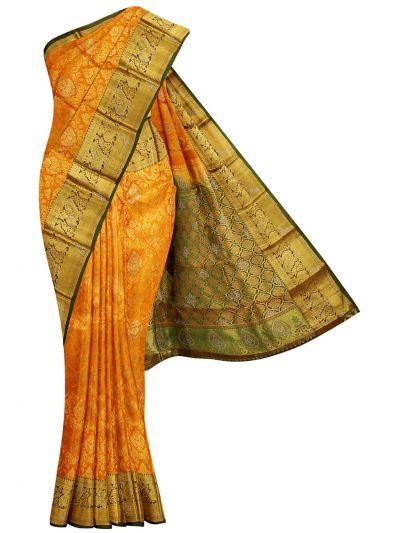 NIB6063146 - Traditional Silk Stone Work Saree