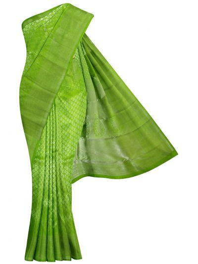 EKM-NIC6234357 - Vivaha Wedding Green Silk Saree