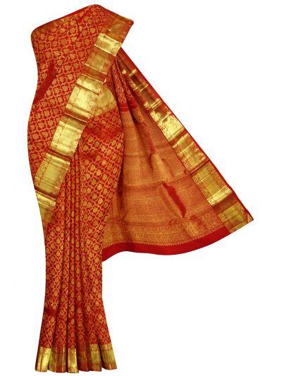Vivaha Goddess Pure Kanchipuram Silk Saree - EKM - NIE8311142