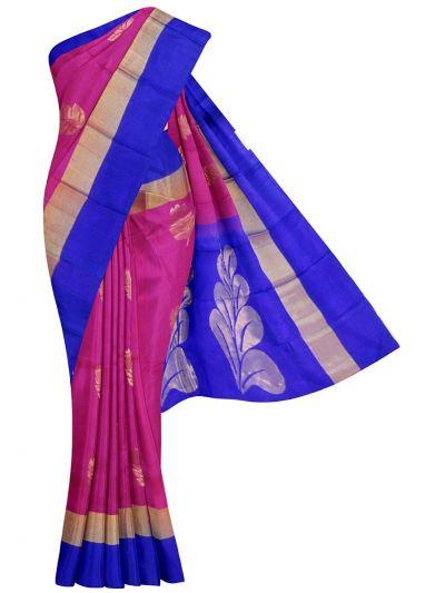 Traditional Uppada Silk Saree - EKM - NJC0477534
