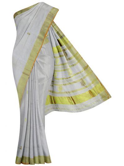 Kerala Traditional Art Silk Saree - EKM - NJD1428105