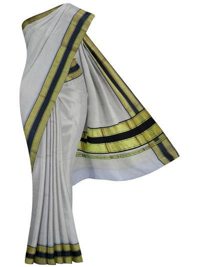 Kerala Traditional Art Silk Saree - EKM - NJD1428106
