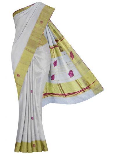 Kerala Traditional Silk Saree - EKM - NJD1428107