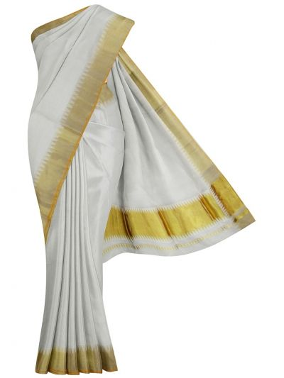 Women's Kerala Saree - NJD1428117-EKM