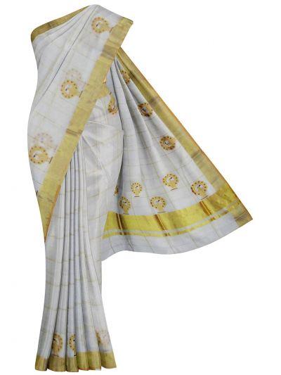Kerala Traditional Silk Saree - EKM - NJD1428125