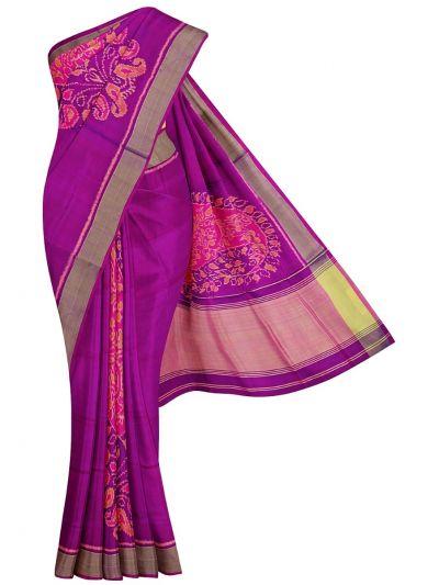 Pochampally Handloom Silk Saree - NKA2402053