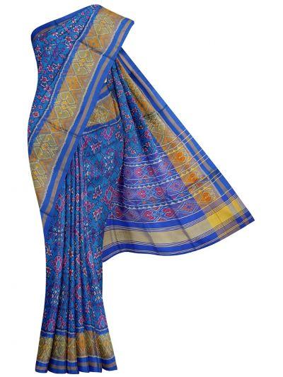 Pochampally Handloom Pure Ikat Silk Saree - NKA2402058