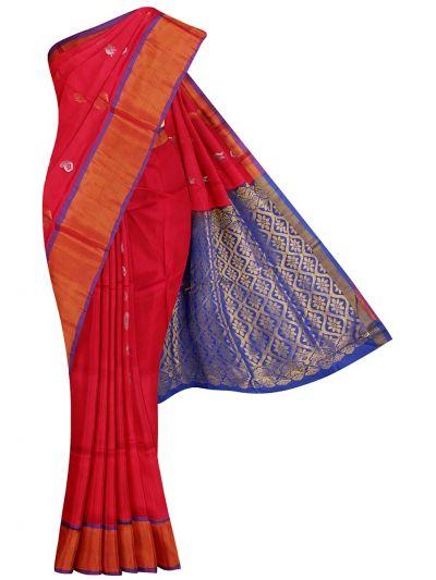 Soft Silk Mix Saree - NKB2541397