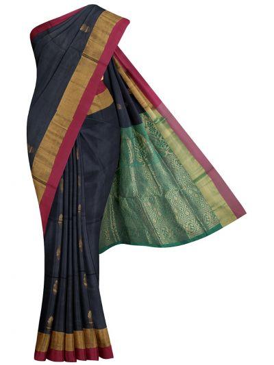 Kanchi Cotton Saree - NKD3876257