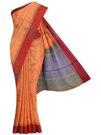 Kanchi Cotton Saree - NLA4538749