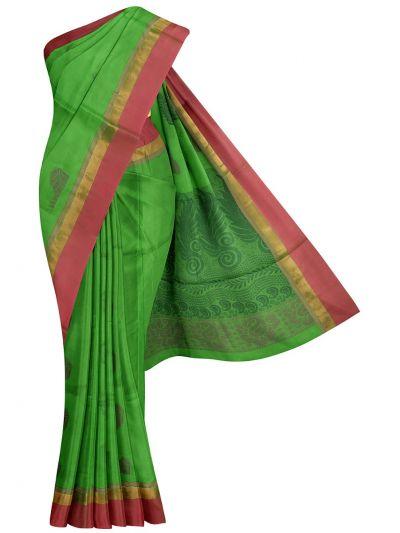Kanchi Cotton Saree - NLA4538751