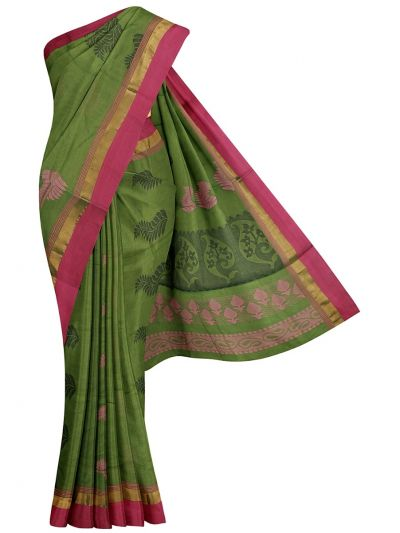 Kanchi Cotton Saree - NLA4538754