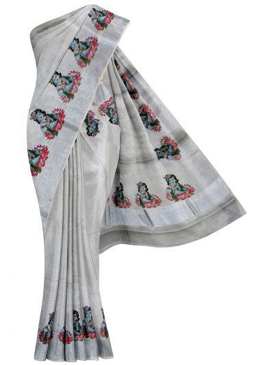 Women's Kerala Traditional Saree - EKM - NLA4931456