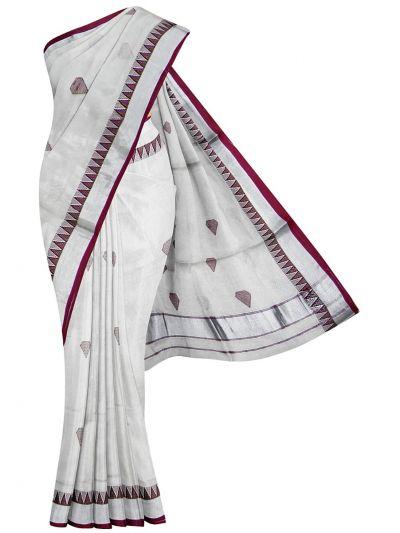 Women's Kerala Traditional Saree - EKM - NLA4931512