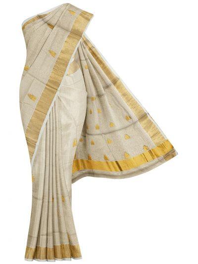 Women's Kerala Traditional Saree - EKM - NLE6552426