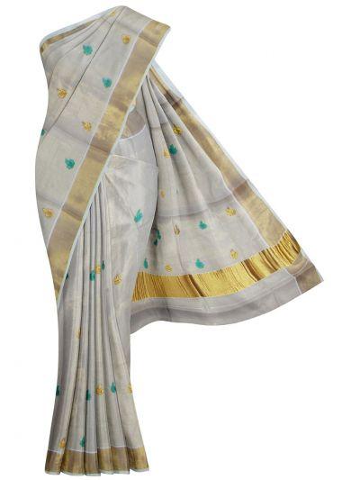 Women's Kerala Traditional Saree - EKM - NLE6552435