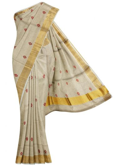 Women's Kerala Traditional Saree - EKM - NLE6552487