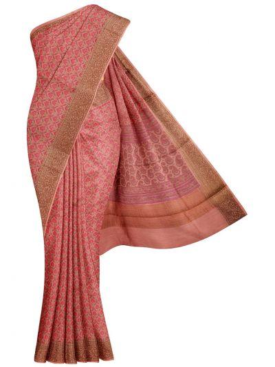 Fancy Pure Tussar Silk Printed Saree - NLE6611415