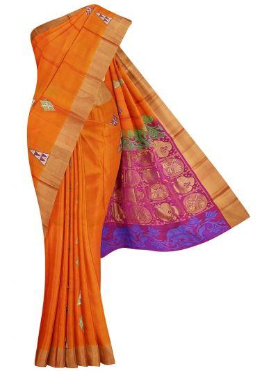 Soft Silk Saree - OAA0174218