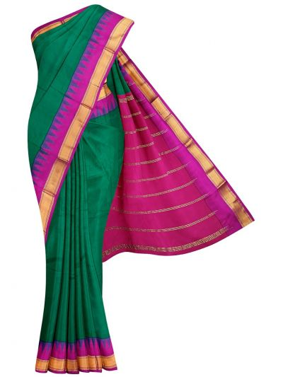 Nine Yards Silk Saree - OAB1144016