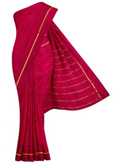 Handloom Pure Silk Nine Yards Saree - OAB1275281