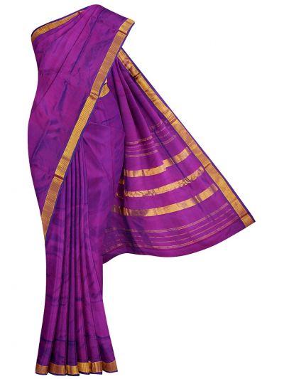 Handloom Pure Silk Nine Yards Saree - OAB1275301