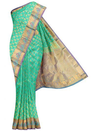 Traditional Wedding Stone Work Silk Saree - OAC1646114