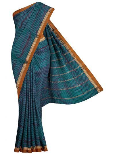 Handloom Nine Yards Silk Saree - OEA4108014