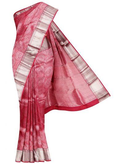 Traditional Wedding Jari Butta Silk Saree - OEA4585876