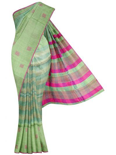 Fancy Tussar Silk Saree - OFA7318263