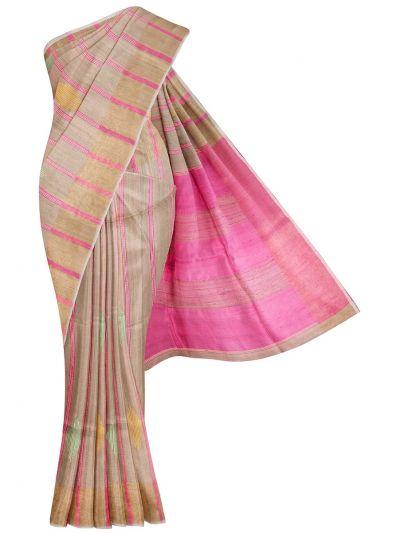 Fancy Tussar Silk Saree - OFA7318281