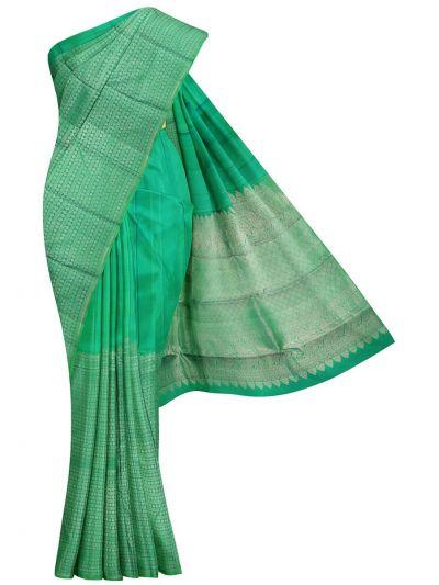 Vivaha Green Wedding Silk Saree - OFA7831608