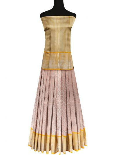 Silk Pavadai Dhavani Material Set - OFA7900158