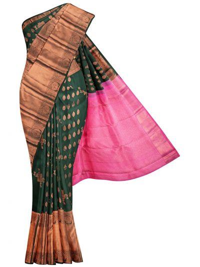 Vivaha Wedding Pure Kanchipuram Silk Saree - OFB7950560