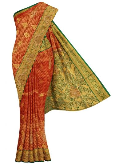 Traditional Stone Work Silk Saree - OFB7961067