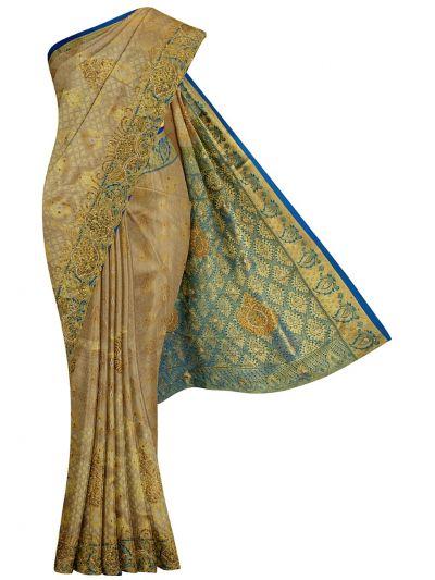 Traditional Stone Work Silk Saree - OFB7961083