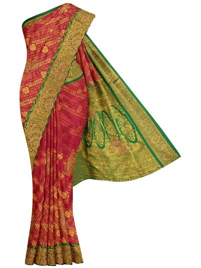 Traditional Stone Work Silk Saree - OFB7961084