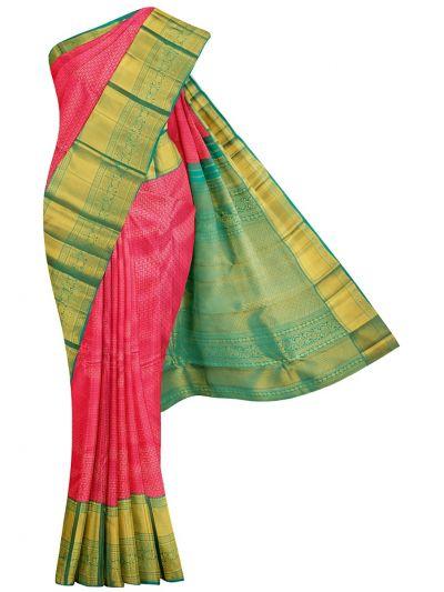 Vivaha Wedding Pure Kanchipuram Silk Saree - OFC9238102