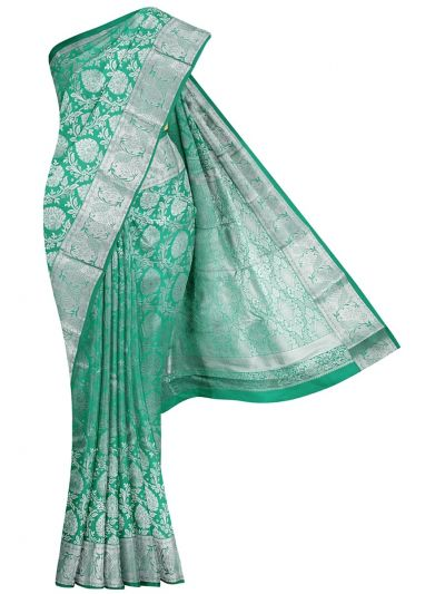 Traditional Green Gift Art Silk Saree - OFC9588333