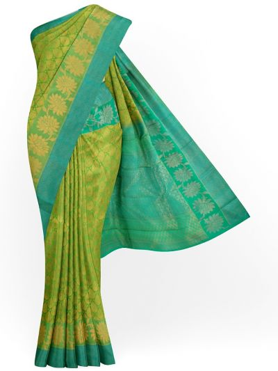 LJD0827819-Vivaha Goddess Bridal Pure Silk Saree