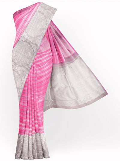 LLD6668818-Vivaha Pure Kanchipuram Silk Saree