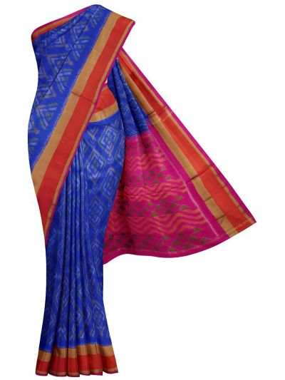 MFB5930895-Pochampally Design Soft Silk Saree