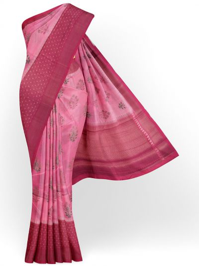 Kyathi Exclusive Dupion Tuusar Soft Silk Saree - MFB6601249